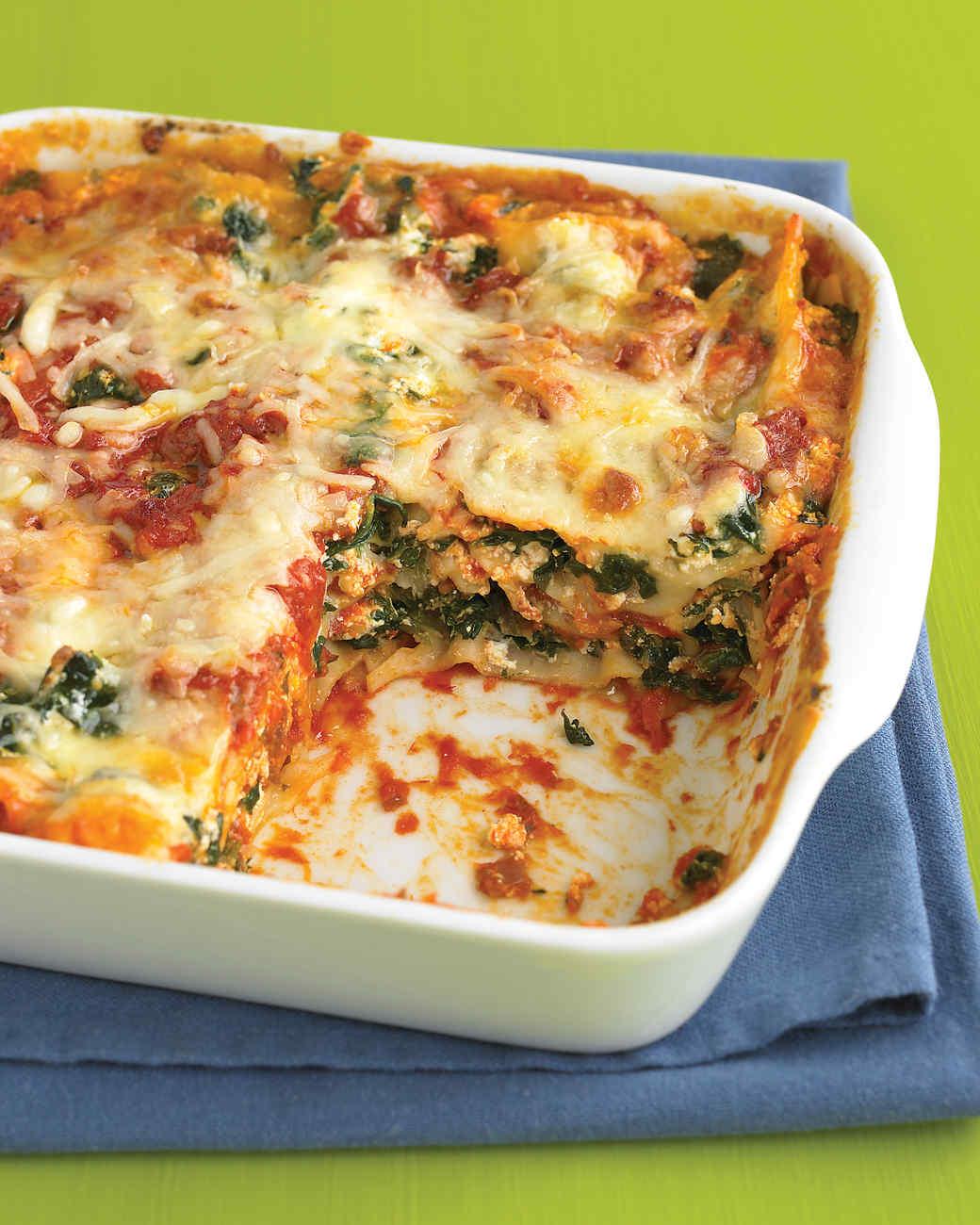 Spinach and Prosciutto Lasagna Recipe & Video | Martha Stewart