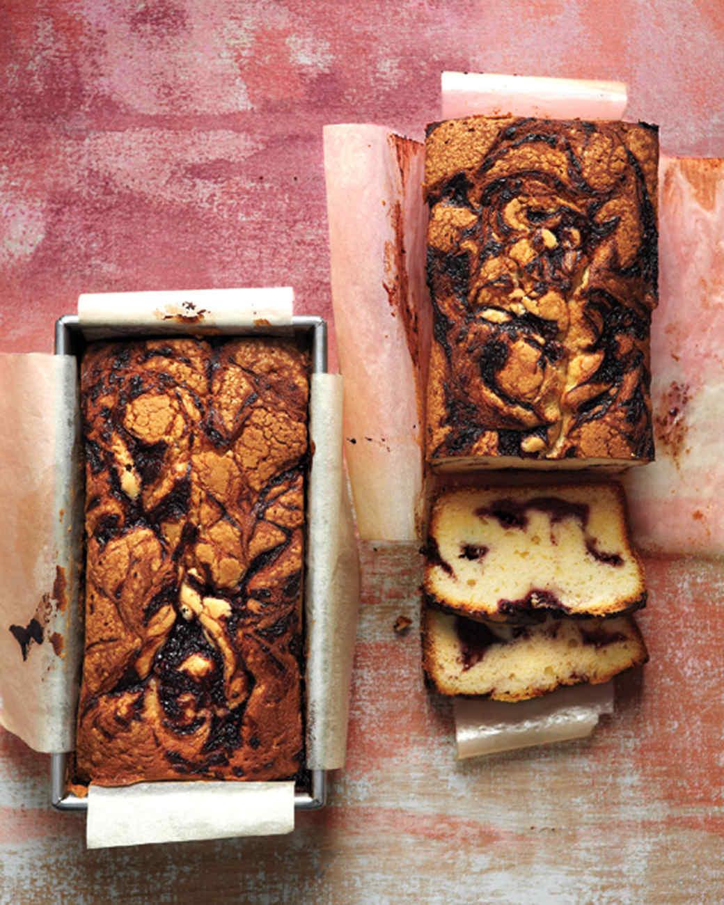 Blackberry-Swirl Pound Cake