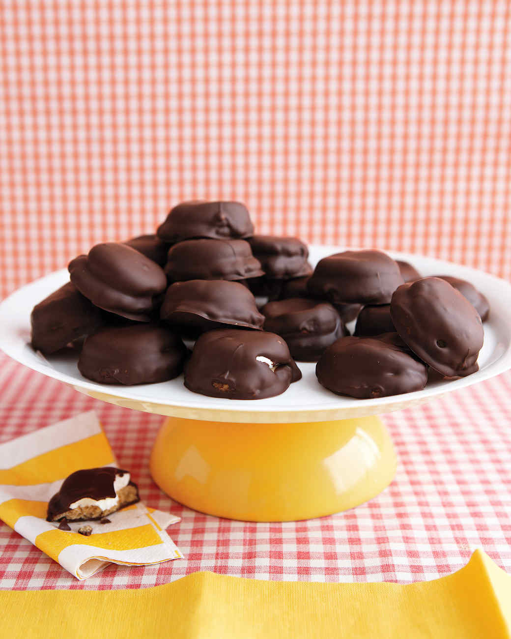Chocolate-Covered Marshmallow Cookies Recipe & Video | Martha Stewart