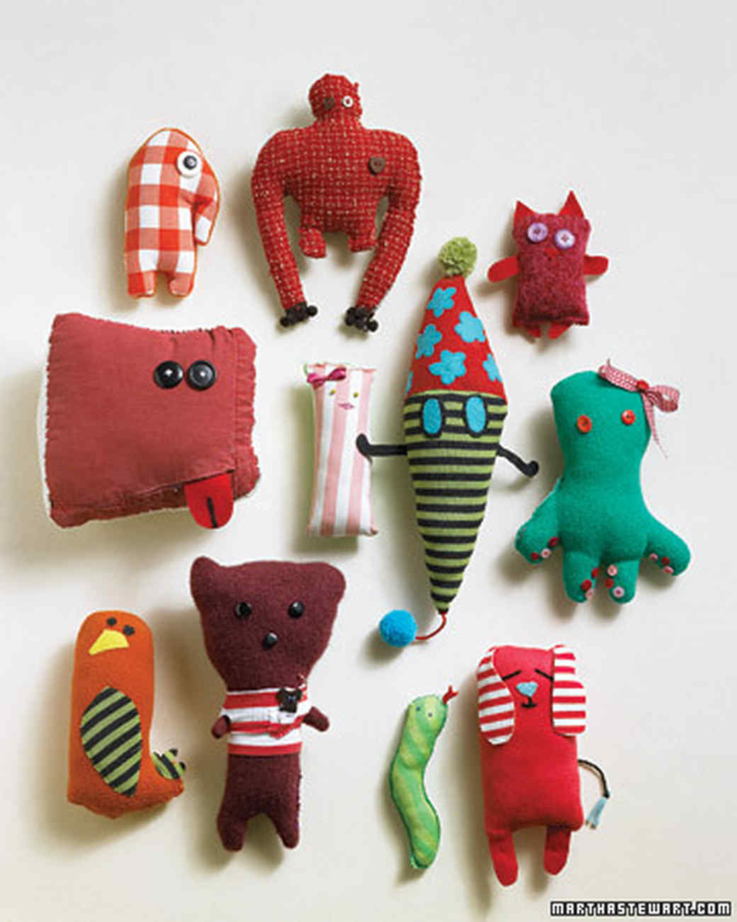 Stuffed Animals From Kids Drawings