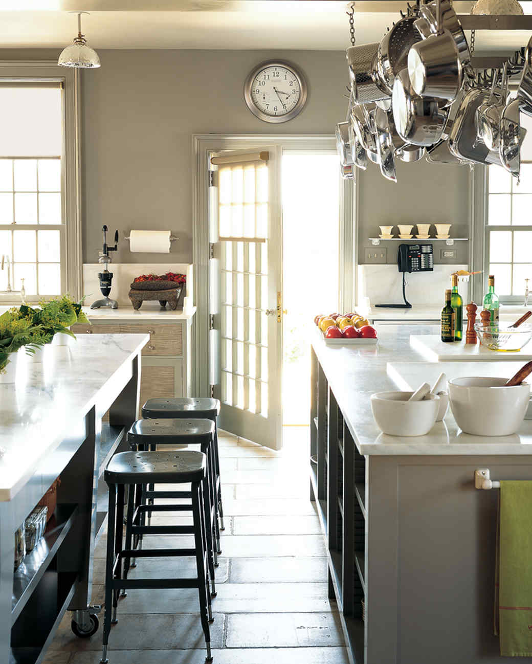 Martha's Bedford Farmhouse Kitchen | Martha Stewart