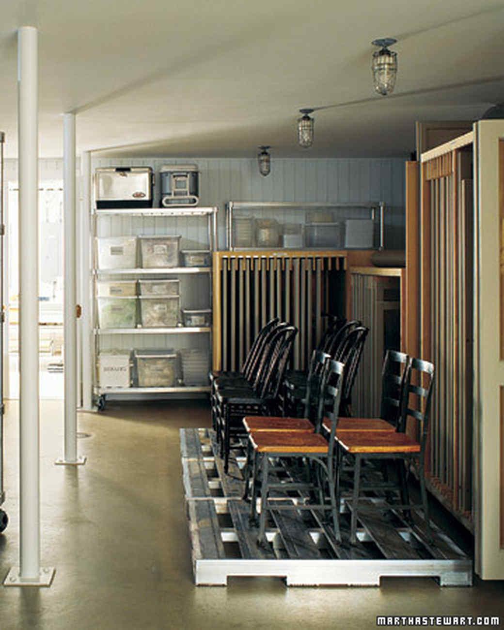 Household Storage & Marthau0027s Basement | Martha Stewart