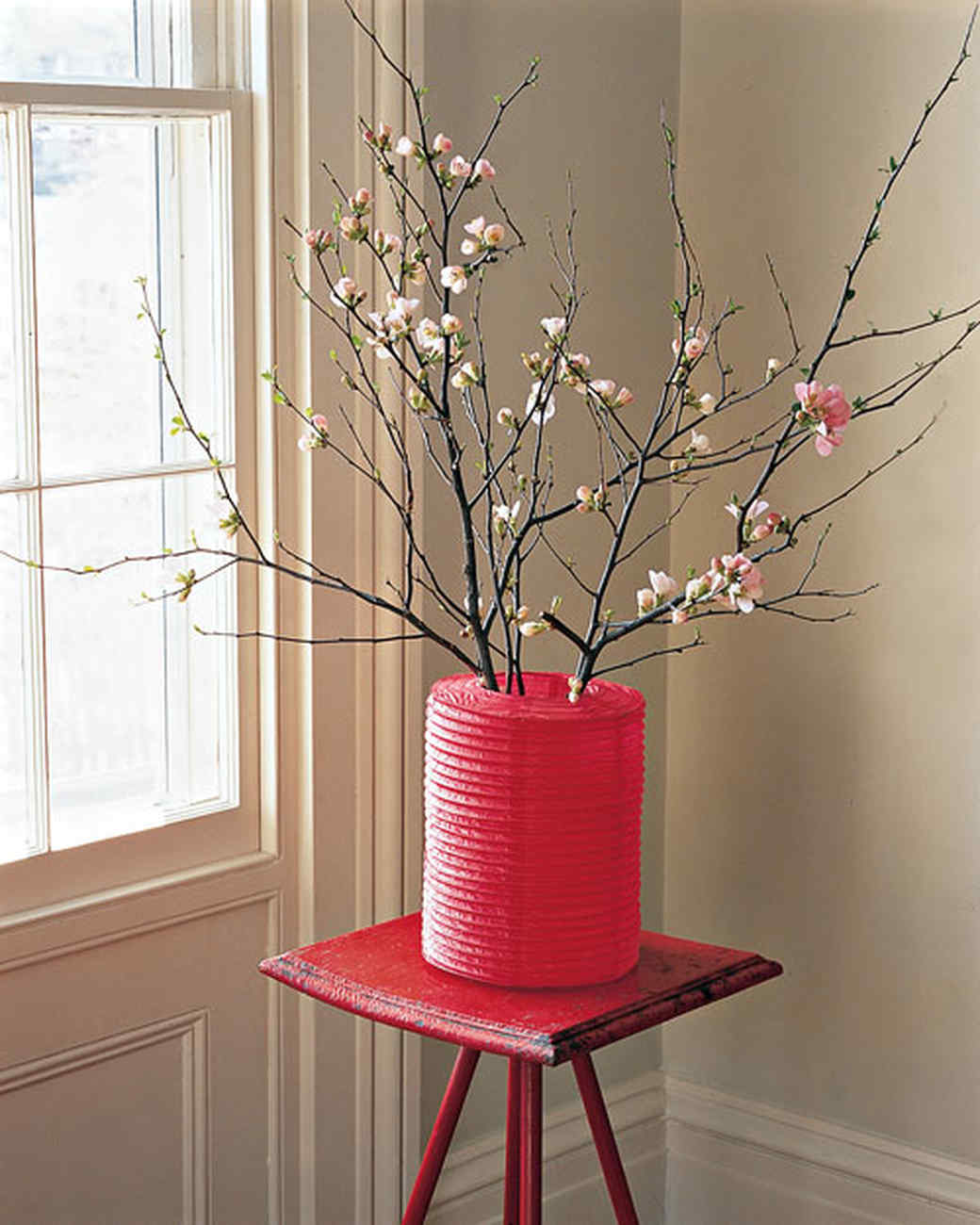 Colorful Paper Vase Cover