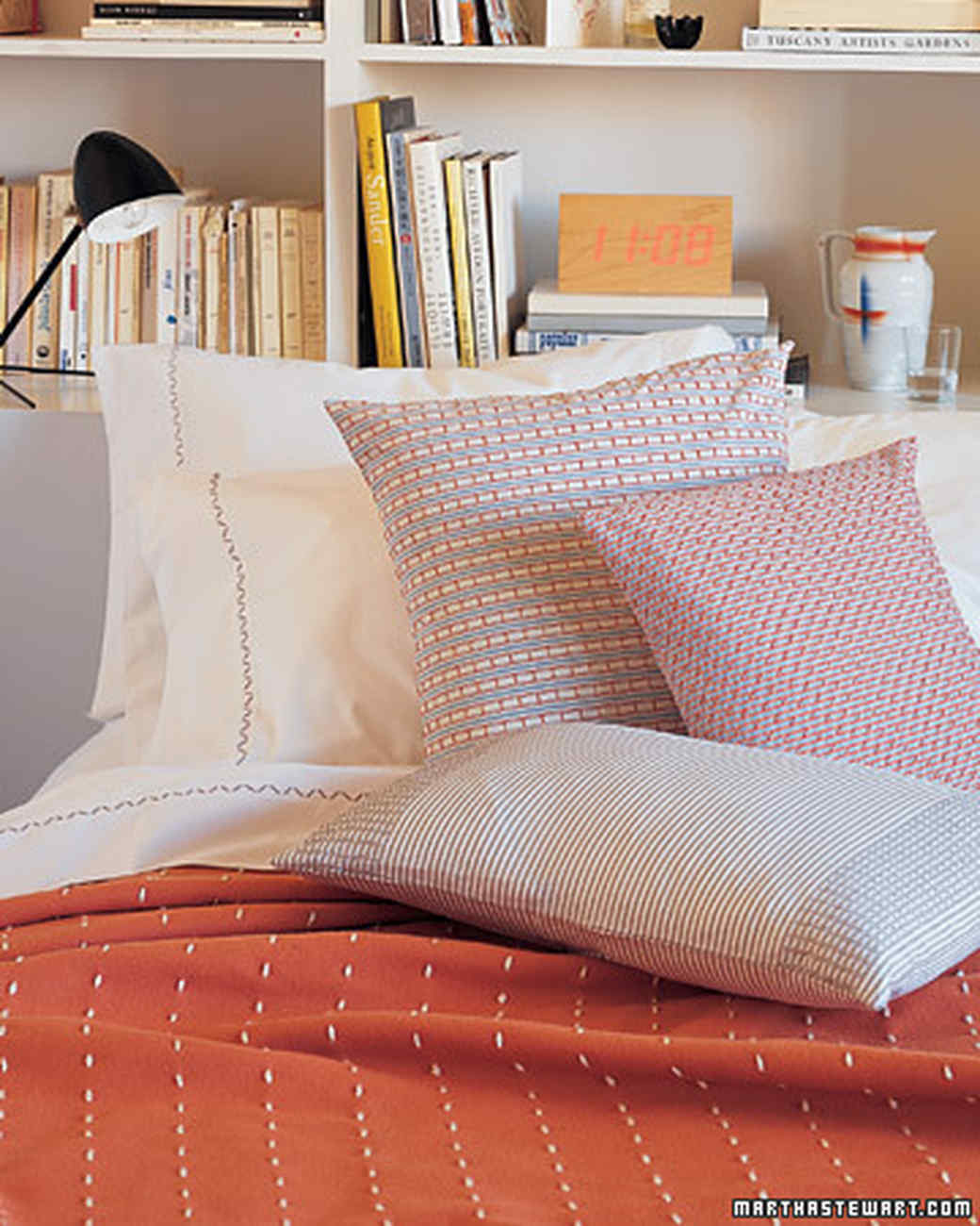 26 pillow projects that are cozy comfortable and easy to make martha stewart - Pillow Design Ideas
