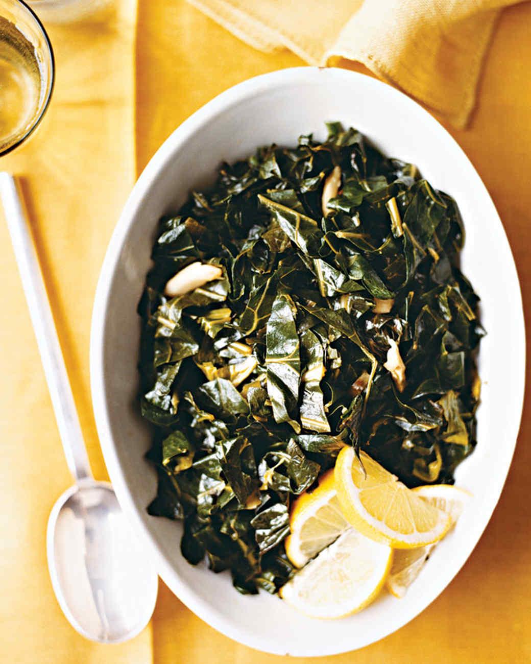 Collard Greens with Lemon