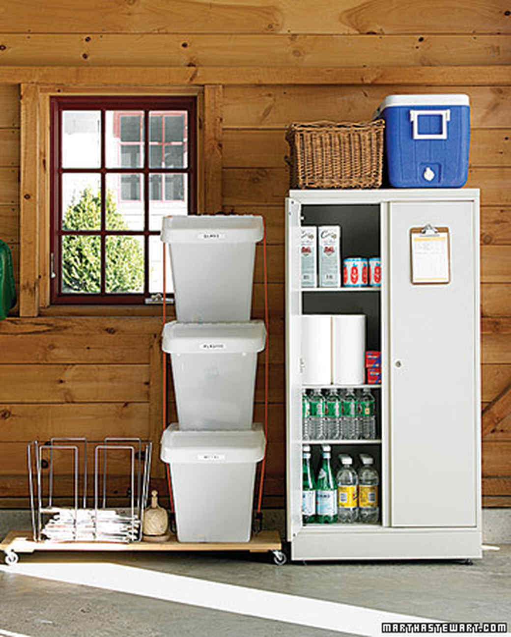 Garage Cleaning And Organizing Part - 20: Carve Out Storage Space
