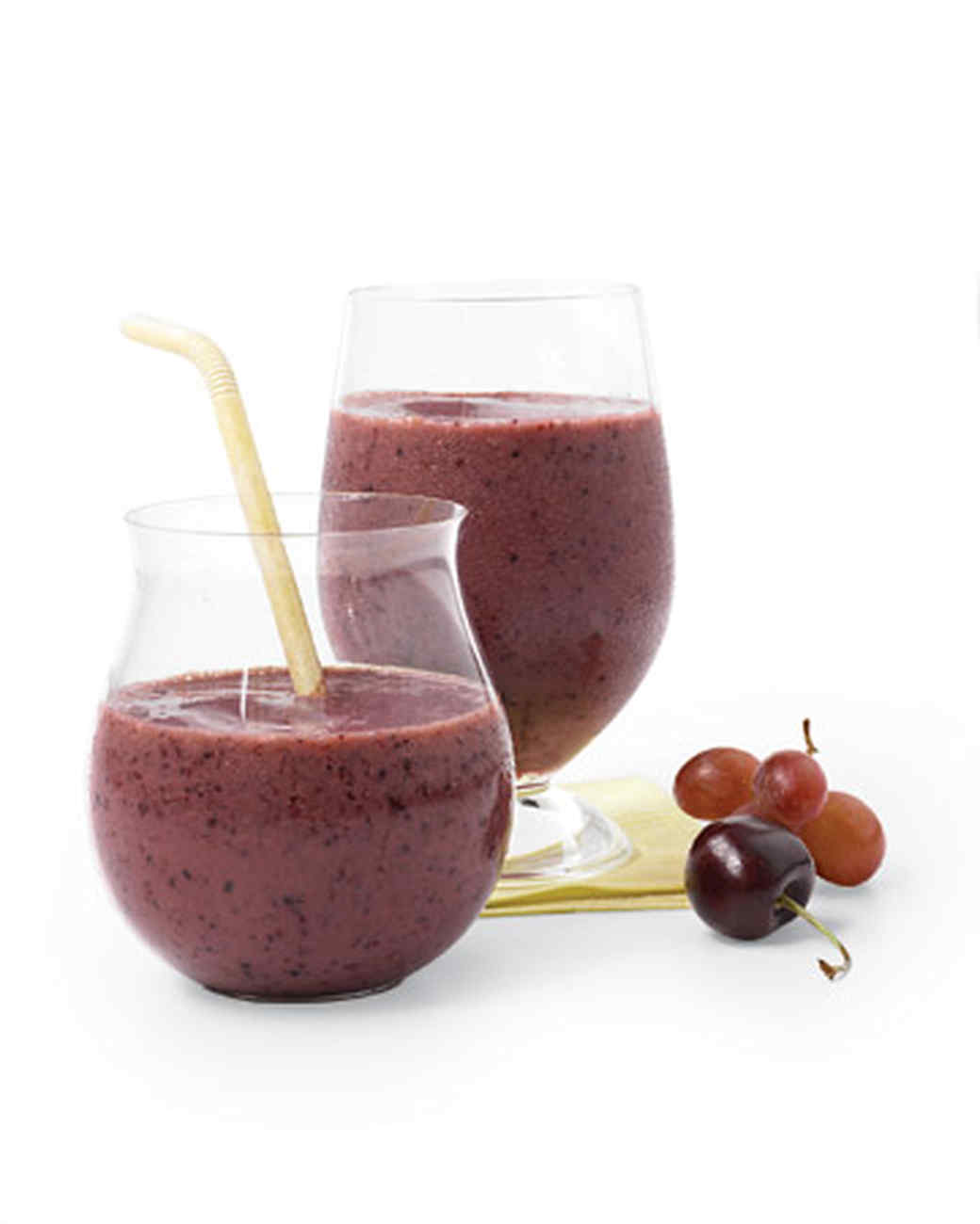 Cherry-Berry Tea Smoothies