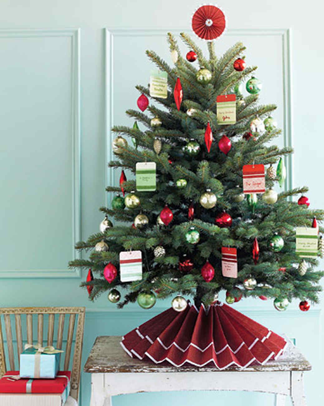diy christmas tree how to make the ornaments the garlands and even the tree martha stewart