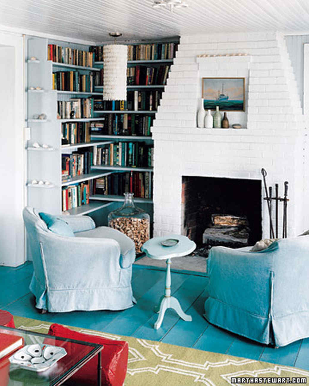 Rooms Painted Blue Blue Rooms  Martha Stewart