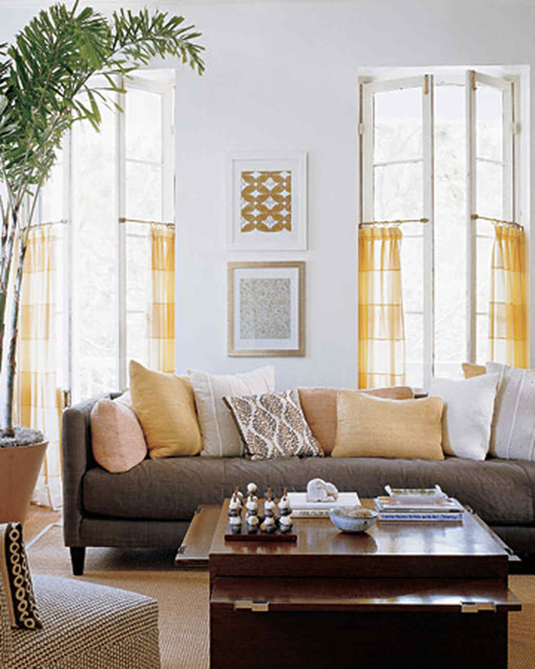 martha stewart living room. Southern Colonial Living Room Yellow Rooms  Martha Stewart