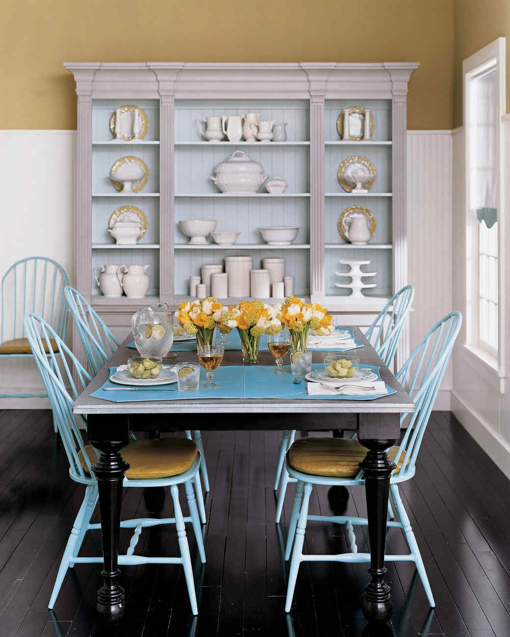 Yellow Dining Rooms Yellow Rooms  Martha Stewart