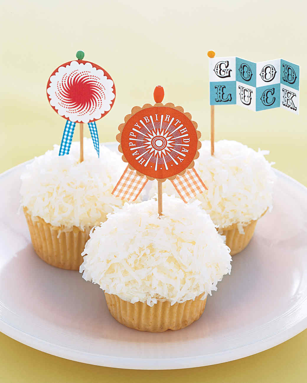 Clip-Art Craft: Cupcake Flags