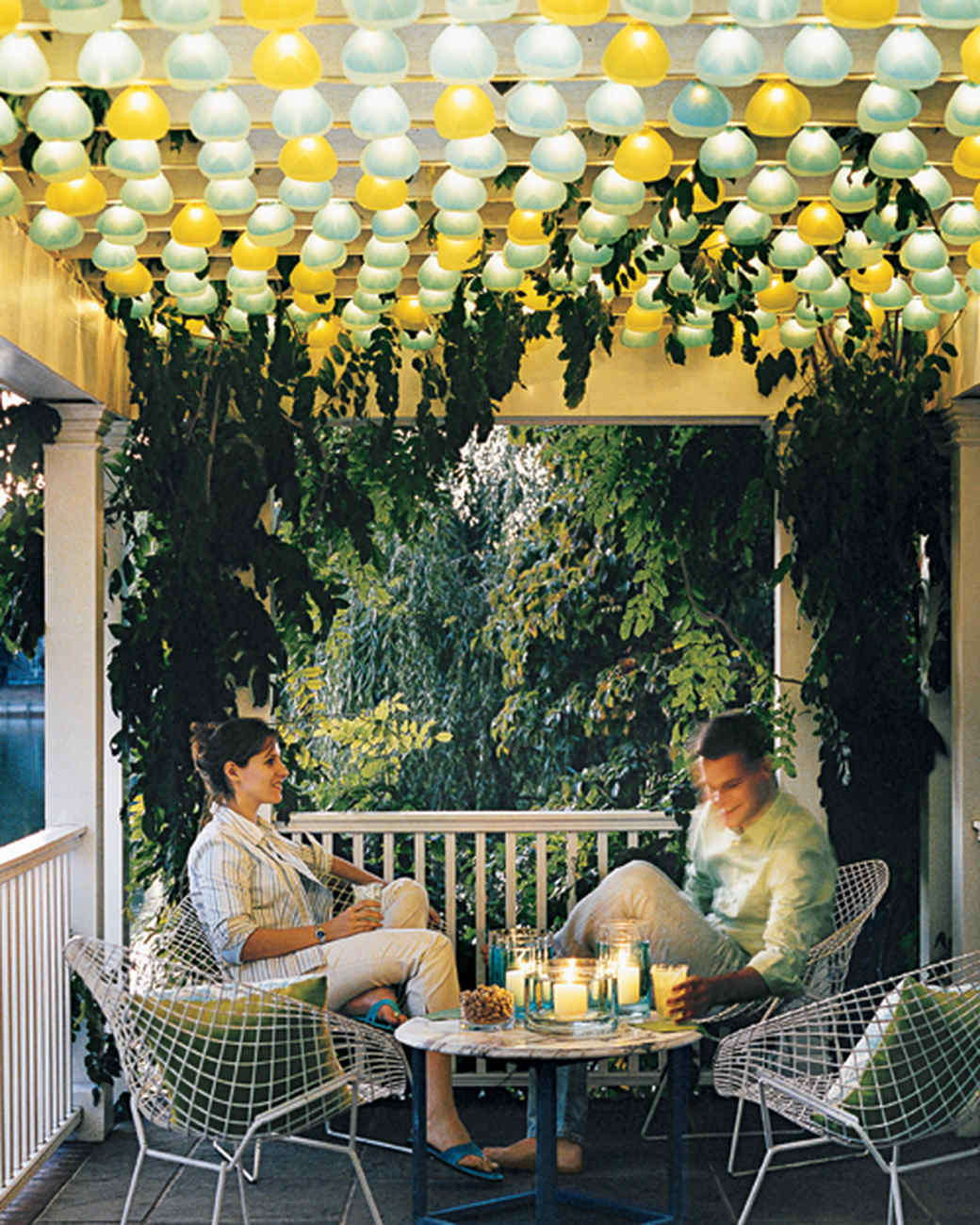 Patio Pergola And Deck Lighting Ideas And Pictures: Outdoor Lighting Ideas
