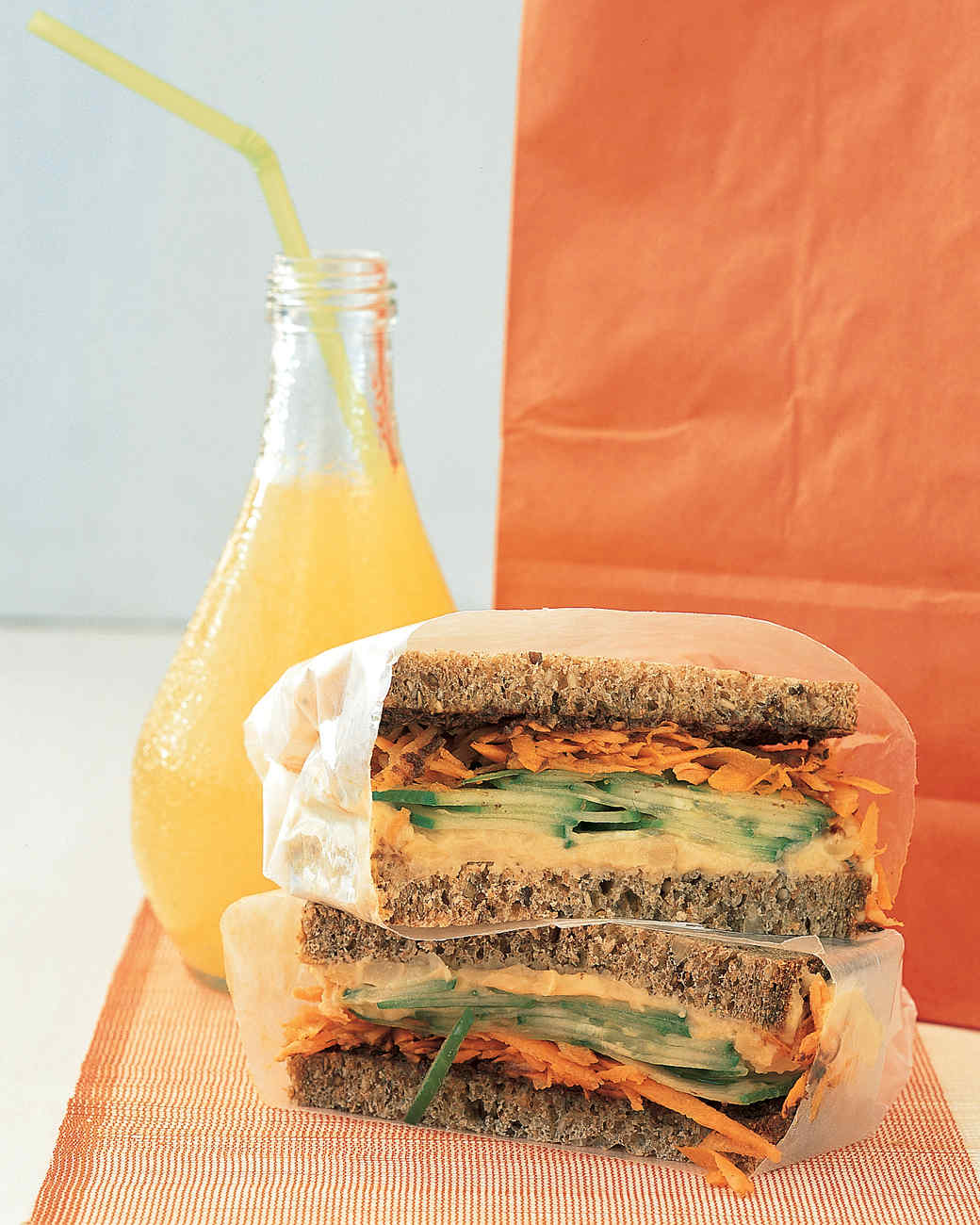 Vegetarian Sandwich and Wrap Recipes
