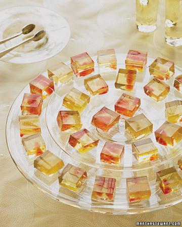 Dessert Wine Gelees with Citrus Fruit Recipe | Martha Stewart