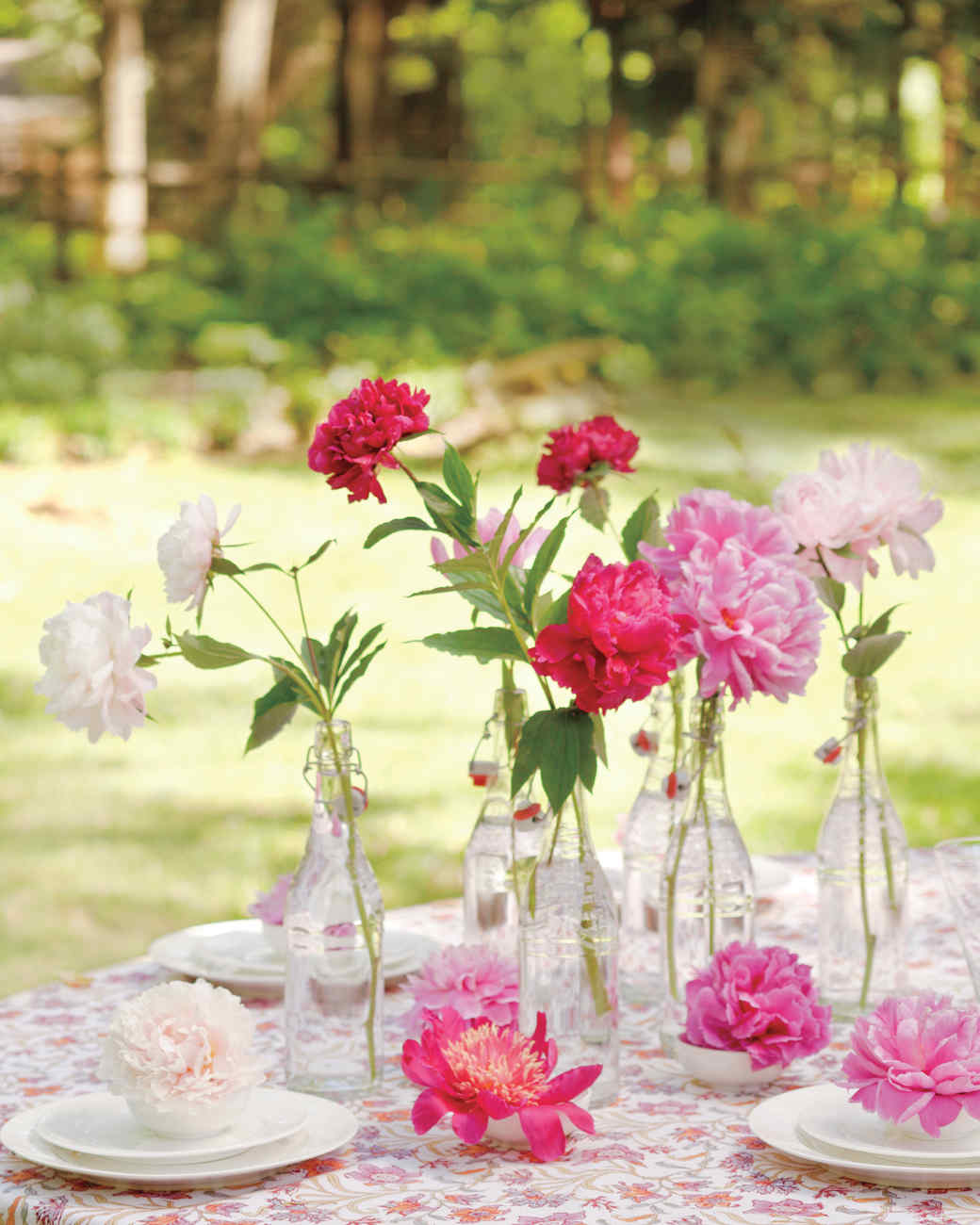 Easy Summer Flower Display