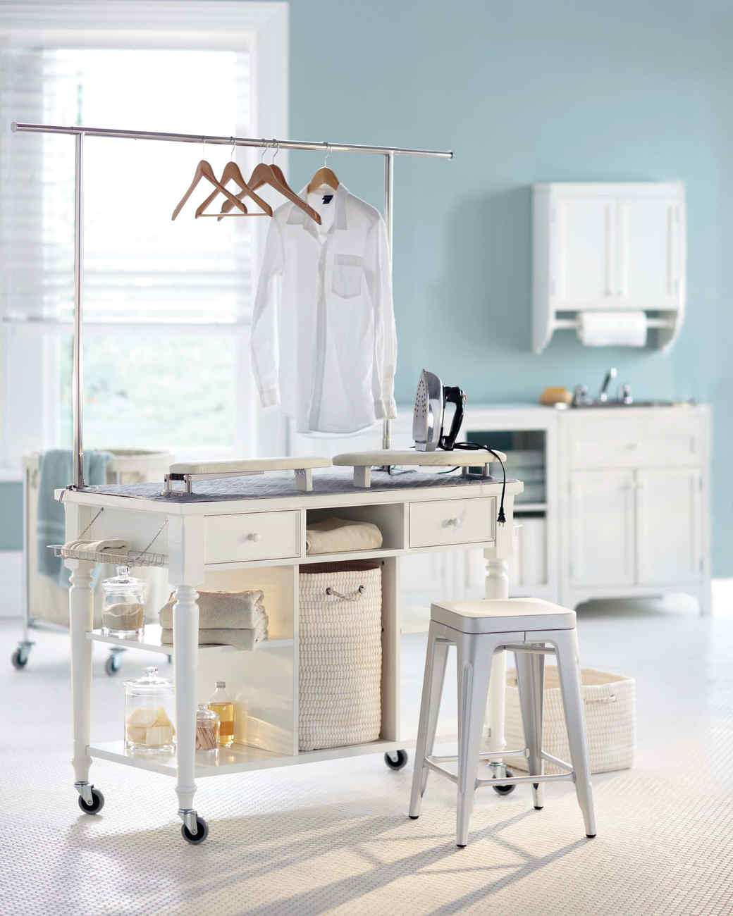 12 Essential LaundryRoom Organizing Ideas Martha Stewart