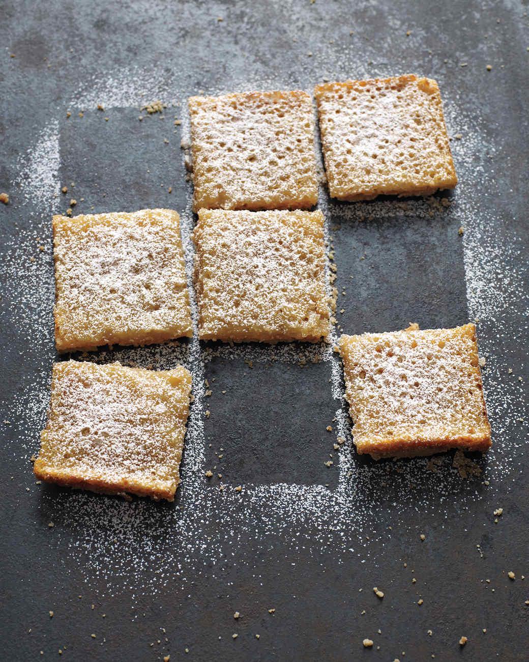 Lemon-Coconut Tofu Squares