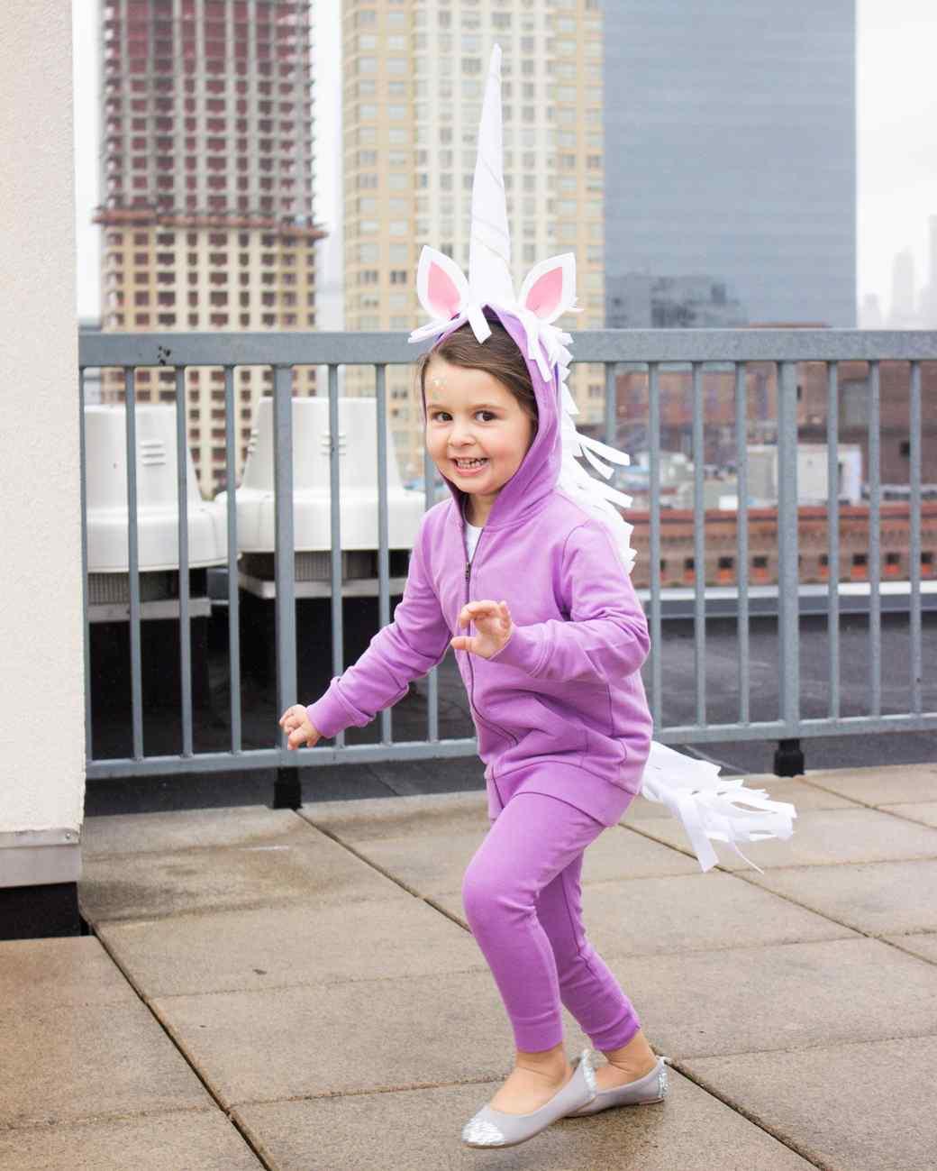 unicorn hoodie costume