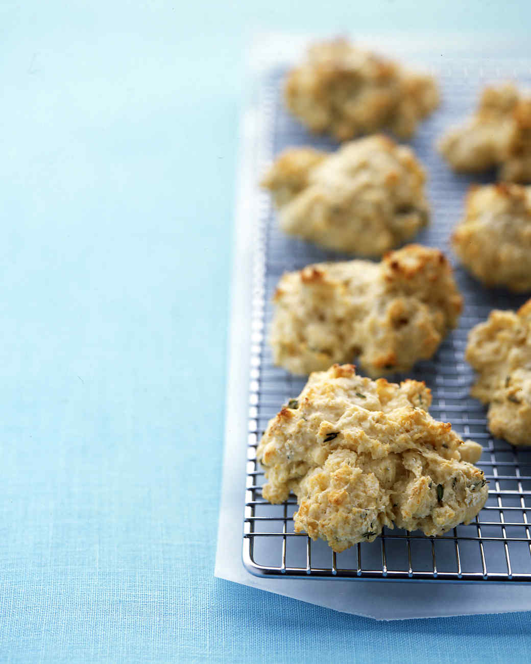 Easy Buttermilk-Thyme Drop Biscuits