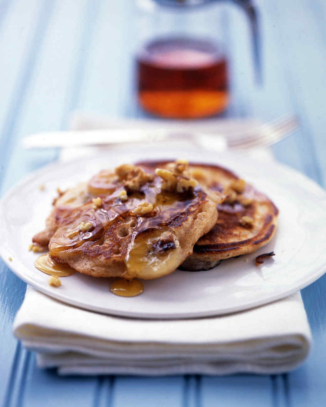 Banana-Buttermilk Pancakes