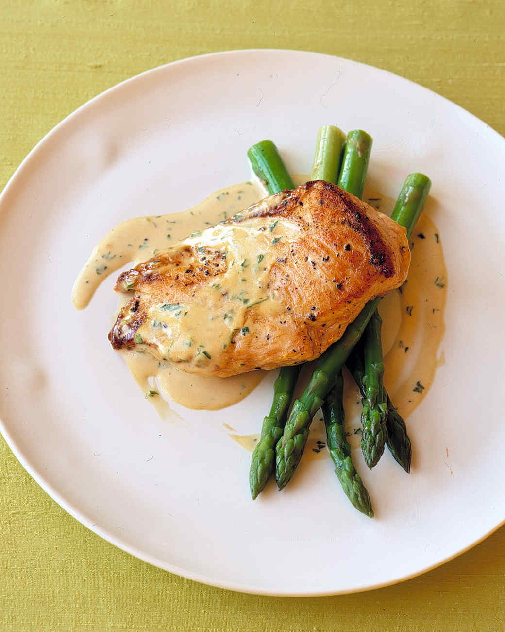 Sauteed Chicken in Mustard-Cream Sauce Recipe & Video | Martha Stewart
