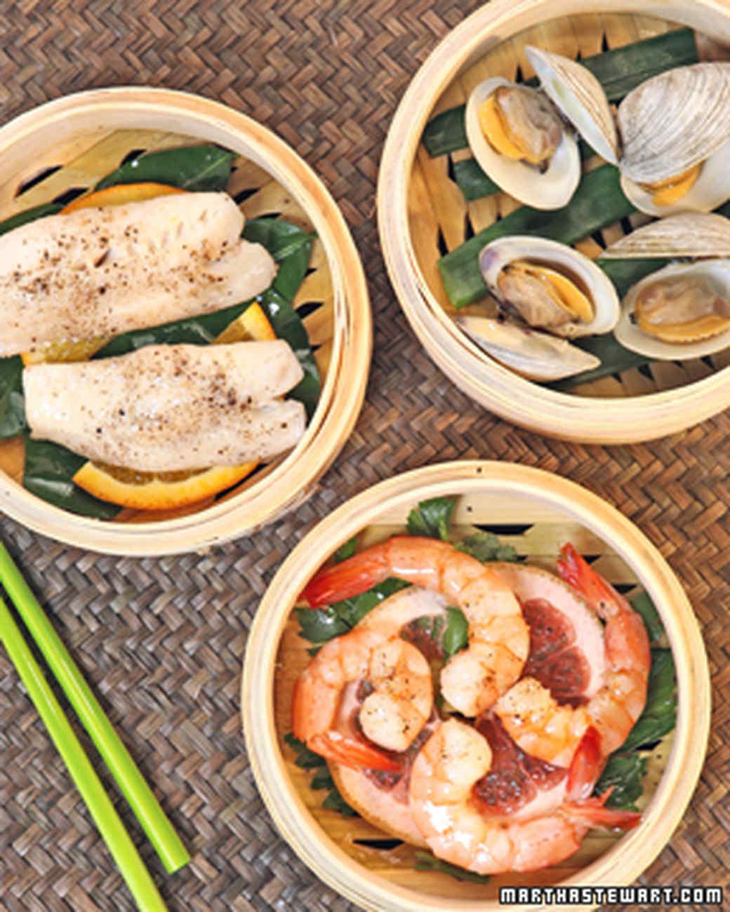 Steamed Seafood Medley