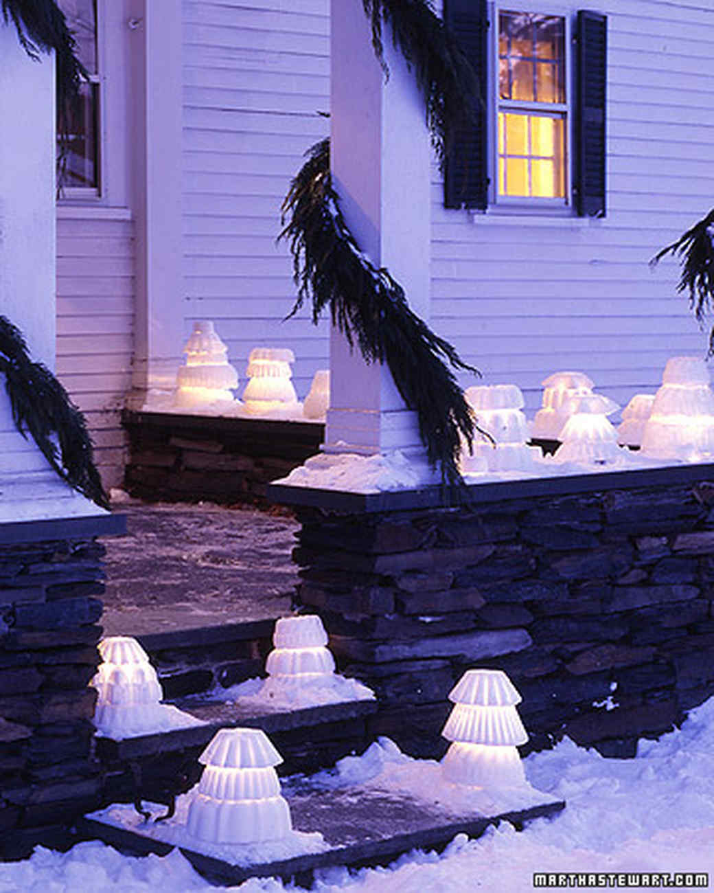 christmas lights for around the house martha stewart