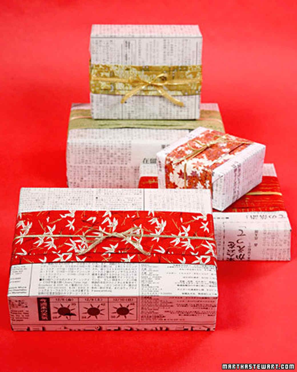 Gift-Wrapping Ideas   Martha Stewart