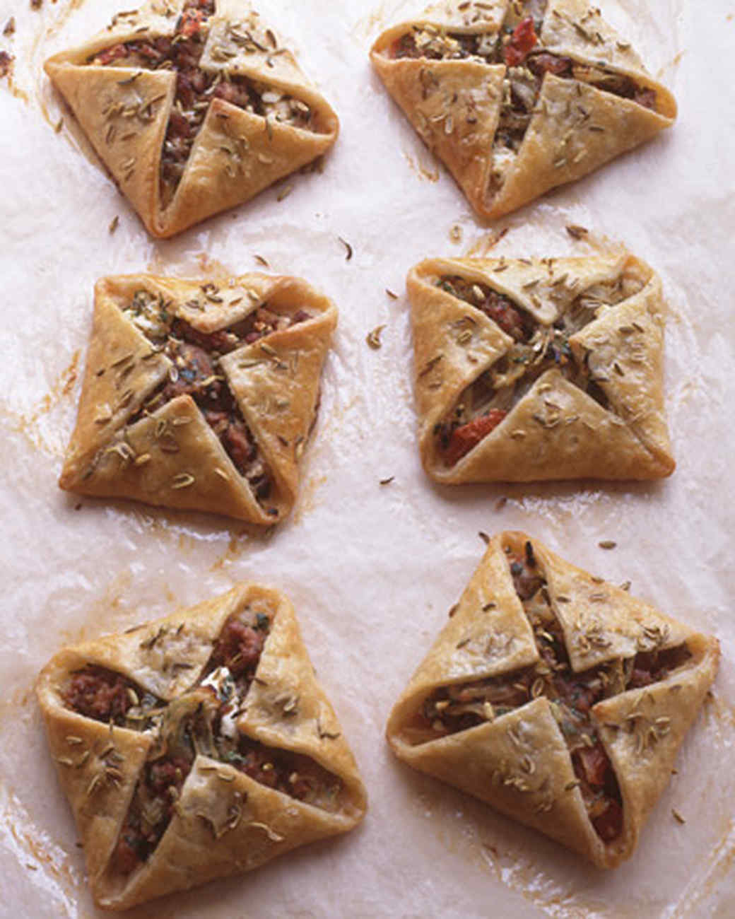 Sausage and Feta Hand Pies