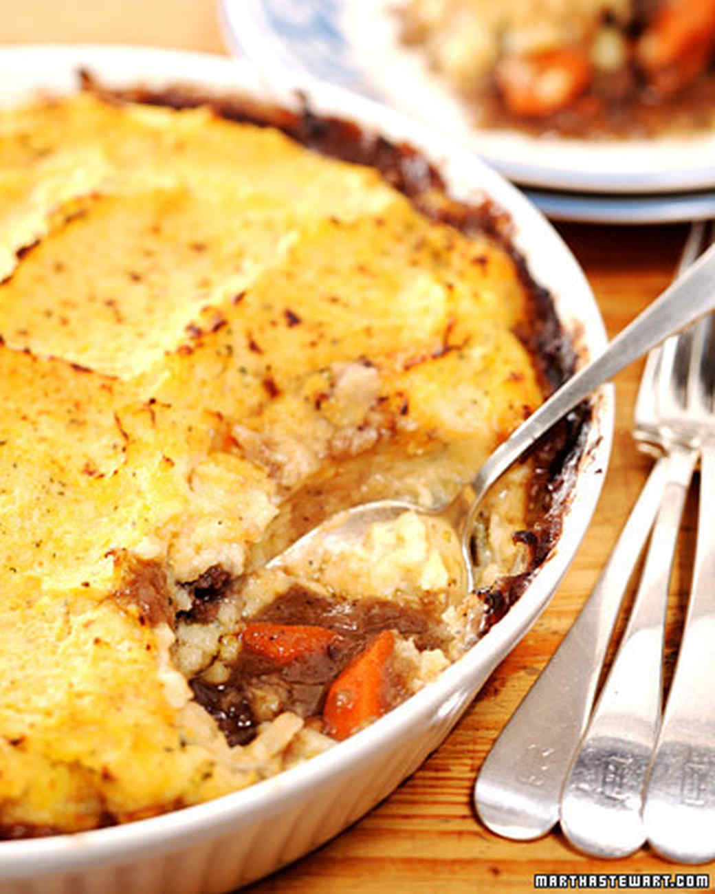 Shepherd's Pie with Rutabaga Topping