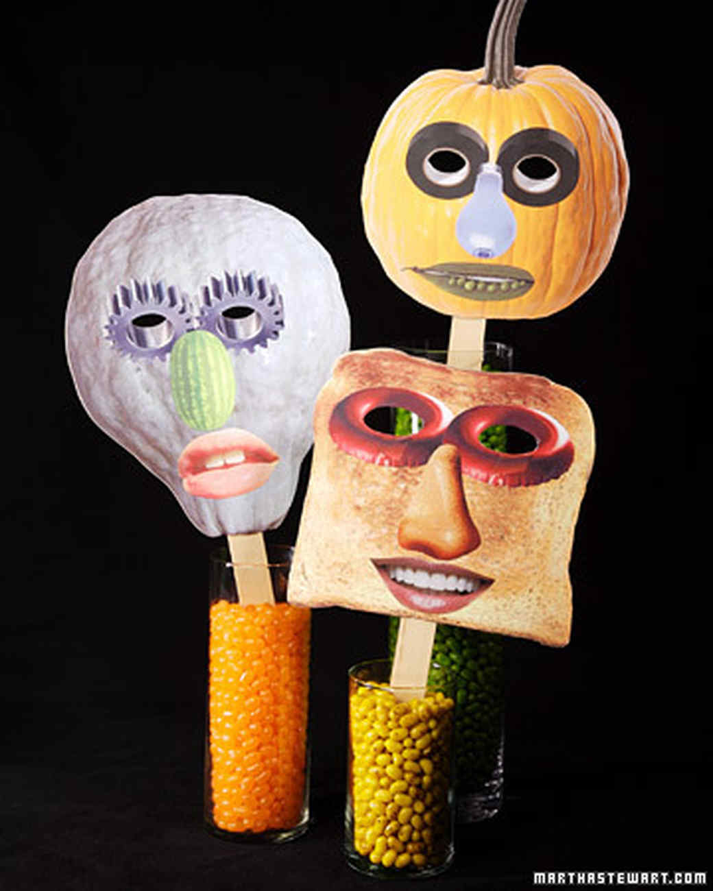 Collage Halloween Masks