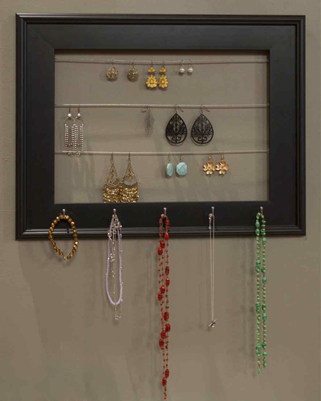 Jewelry Organizer Frame Martha Stewart
