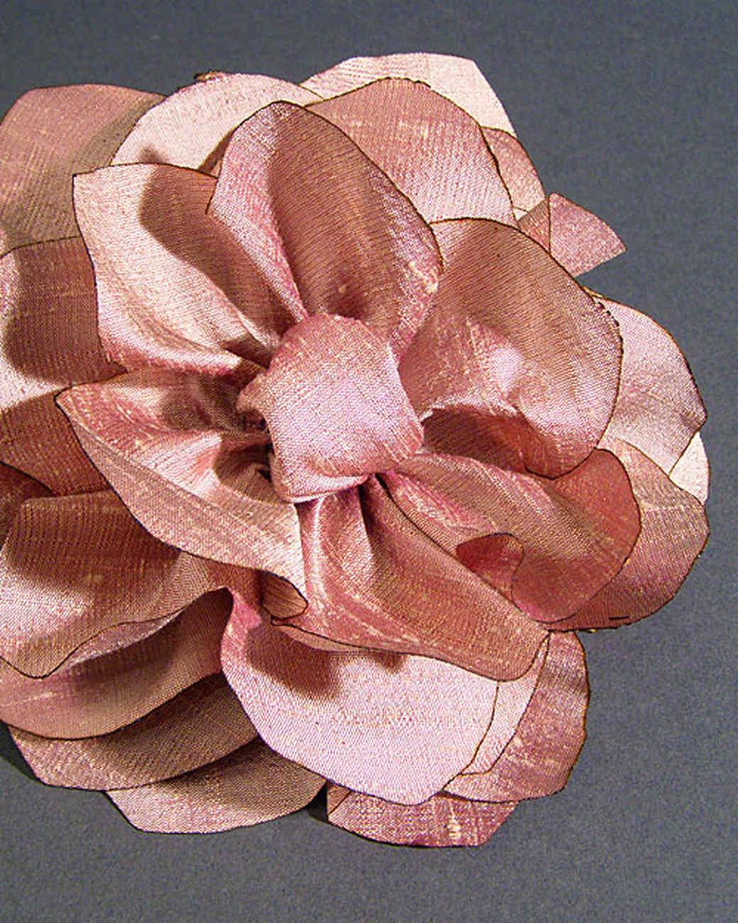Silk Lotus Flower Video Martha Stewart