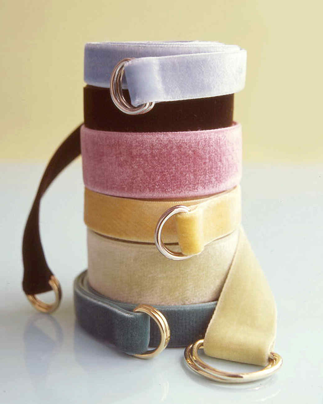 Velvet-Ribbon Belts