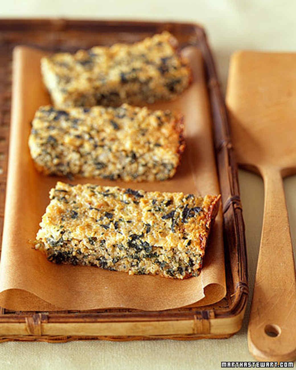 Quinoa-Spinach Bake