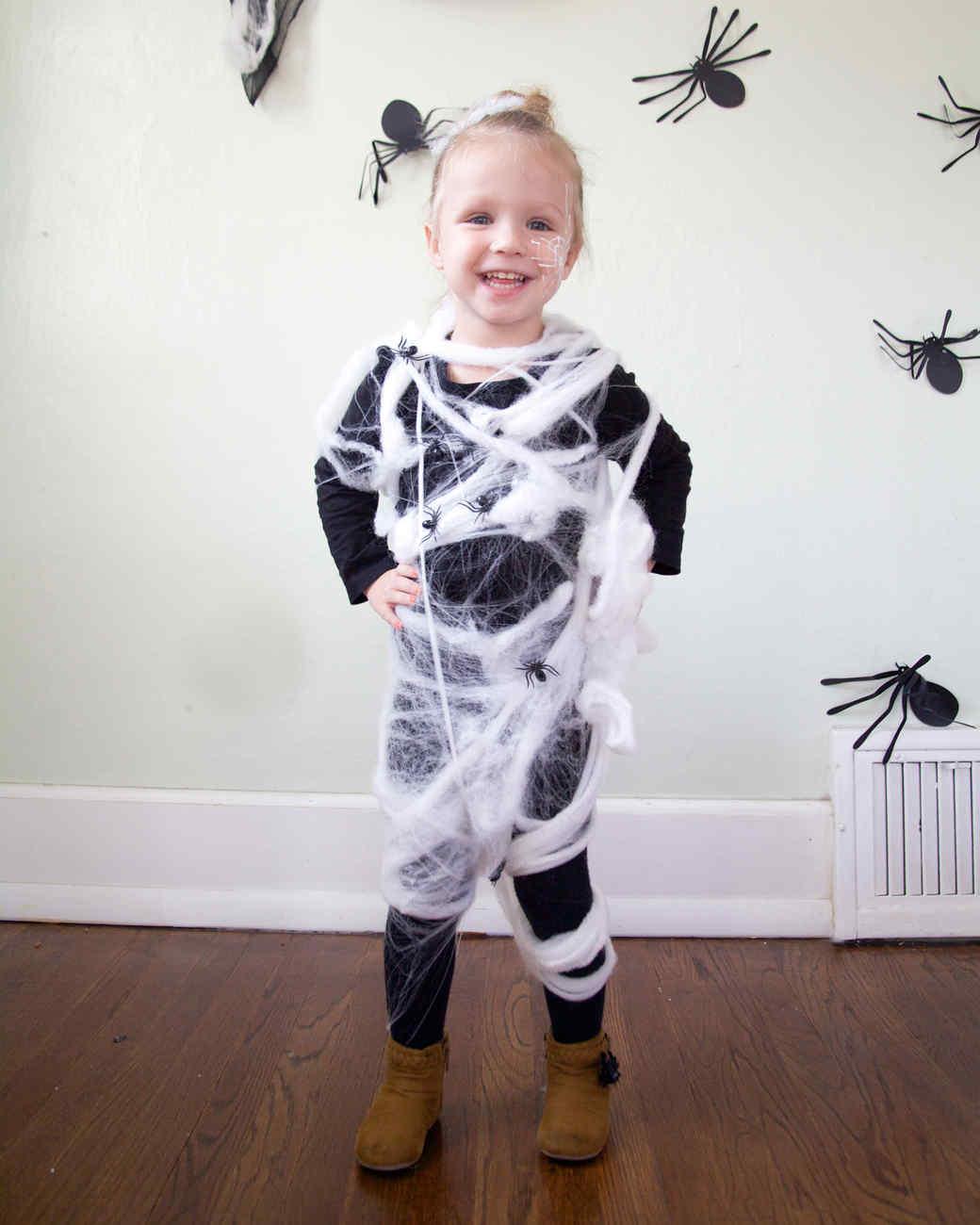 Super Spider Kid  sc 1 st  Martha Stewart & Last-Minute Halloween Costumes for Kids | Martha Stewart