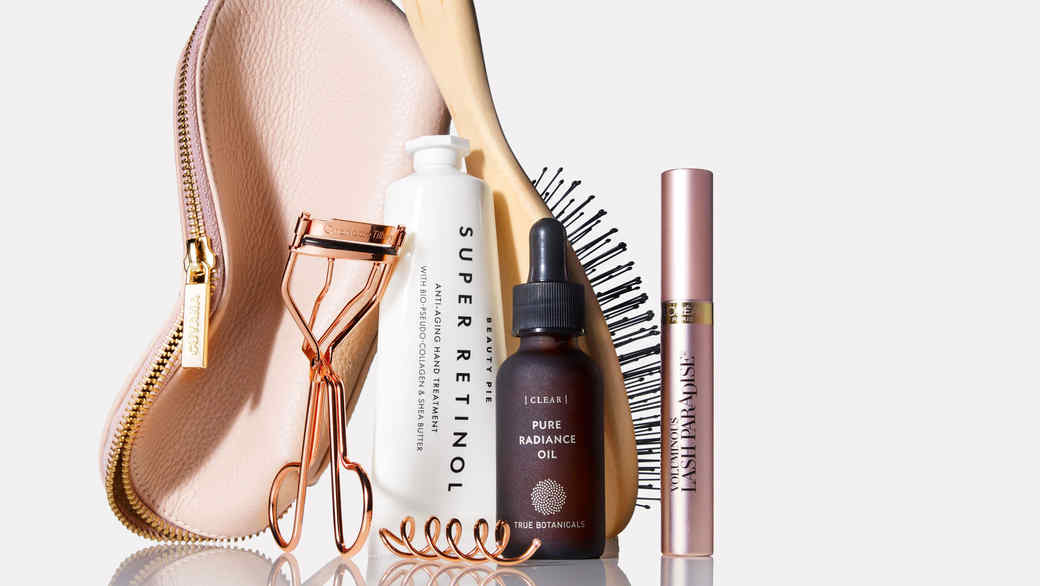 makeup skincare and hair products