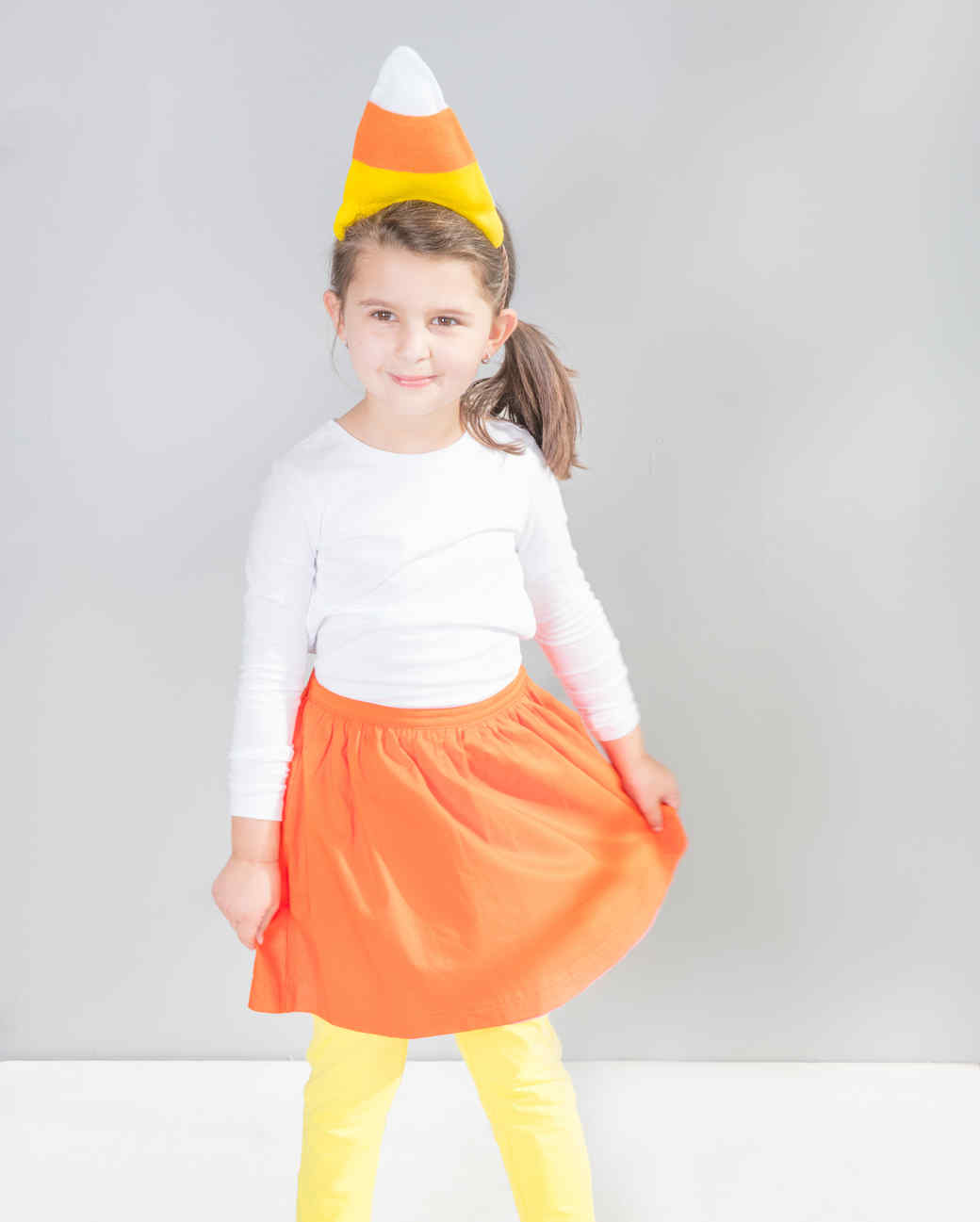candy corn costume  sc 1 st  Martha Stewart & Candy Corn Costume | Martha Stewart