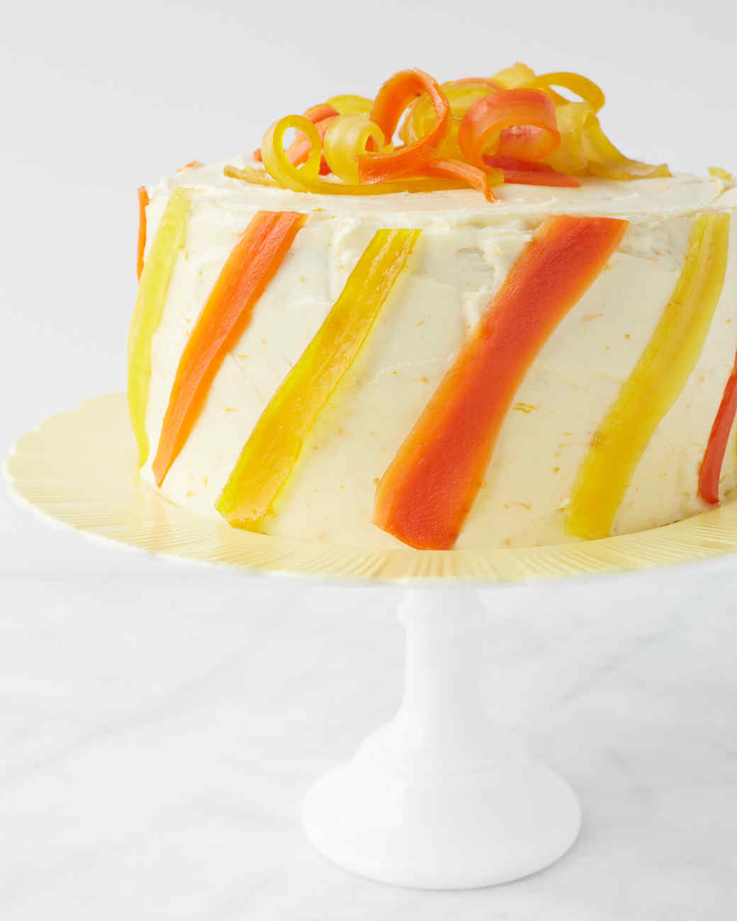 Carrot Cake With Lemon Frosting Recipe