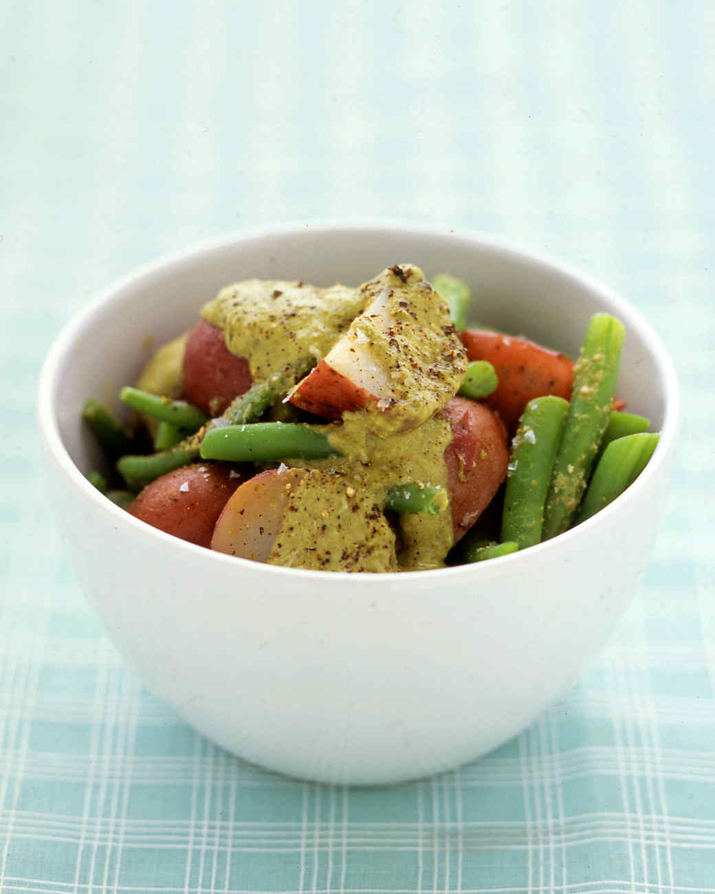 Green Bean and Potato Salad with Pesto