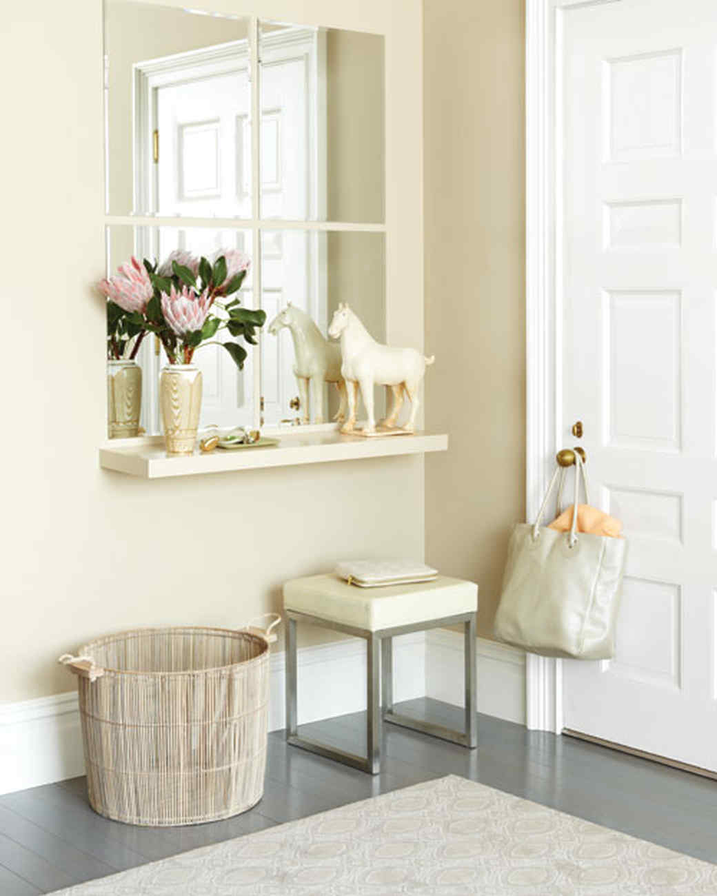 entryway organizing ideas martha stewart - Small Entryway Decor