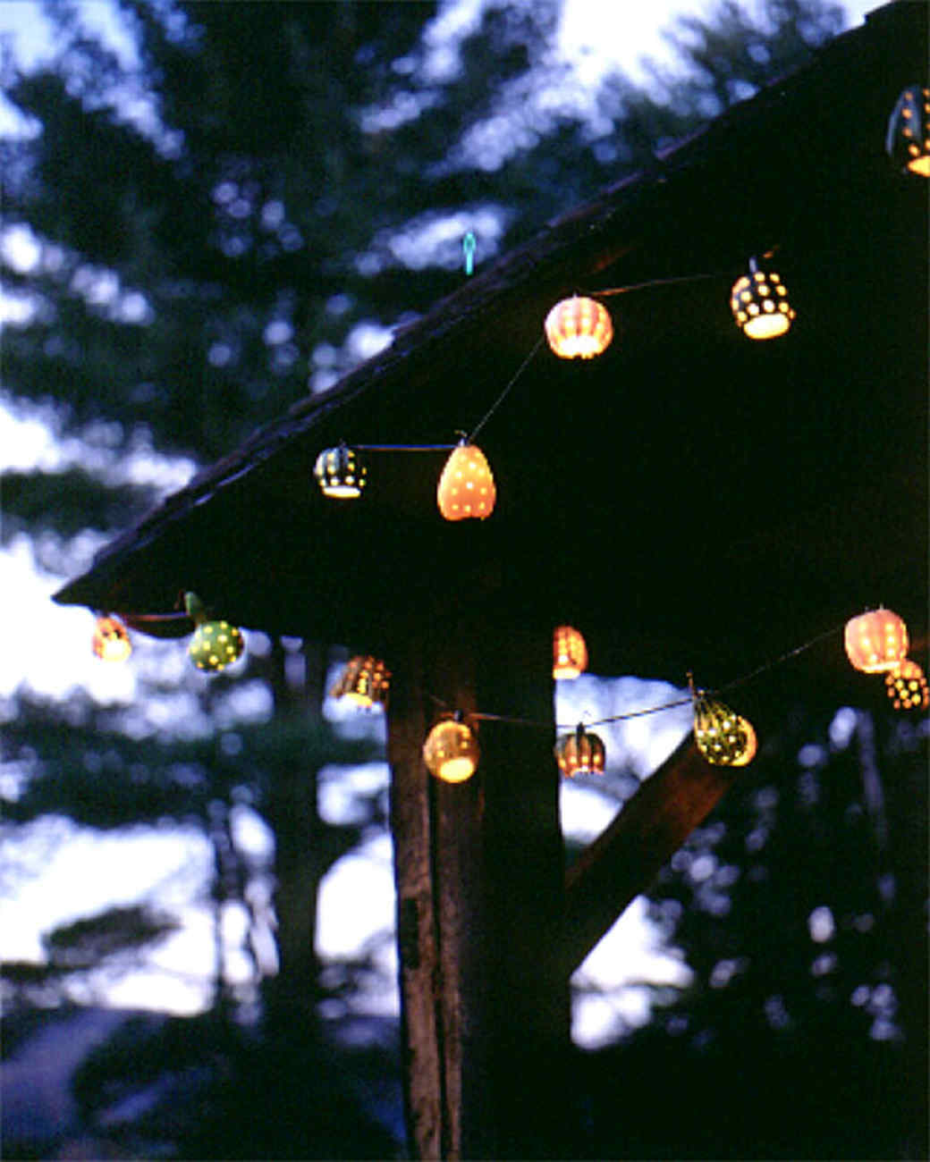 Decorative Hanging Gourd Lights