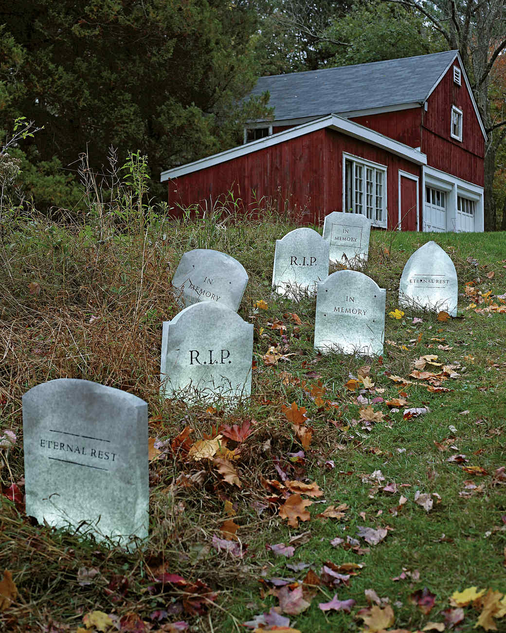 tombstone decorations for your lawn | martha stewart