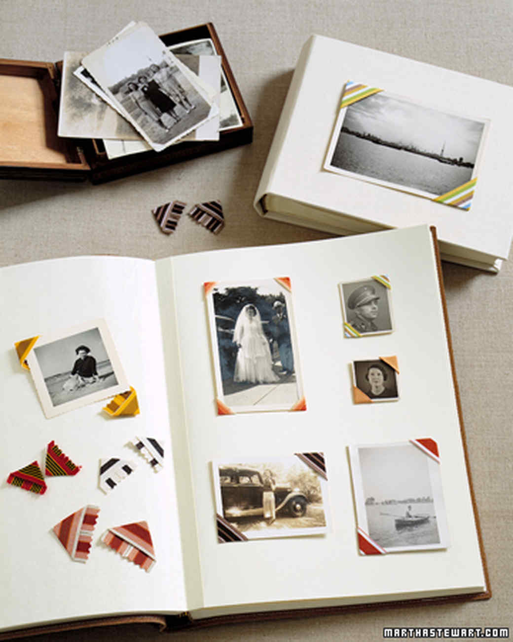 35 great scrapbook ideas and albums | martha stewart