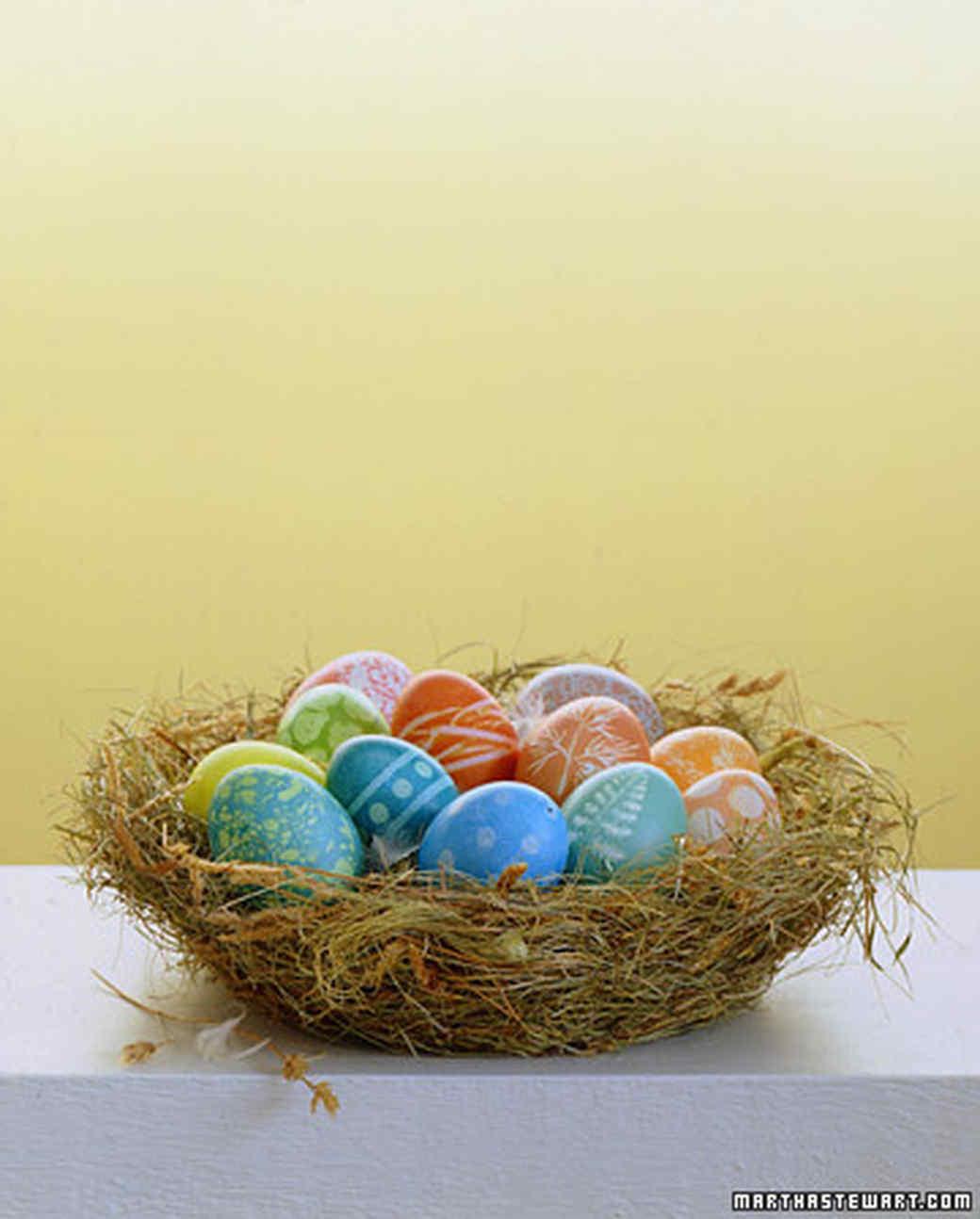 Egg-Dyeing Basics