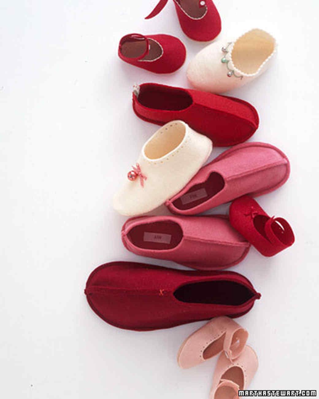 Jingle-Bell Slippers