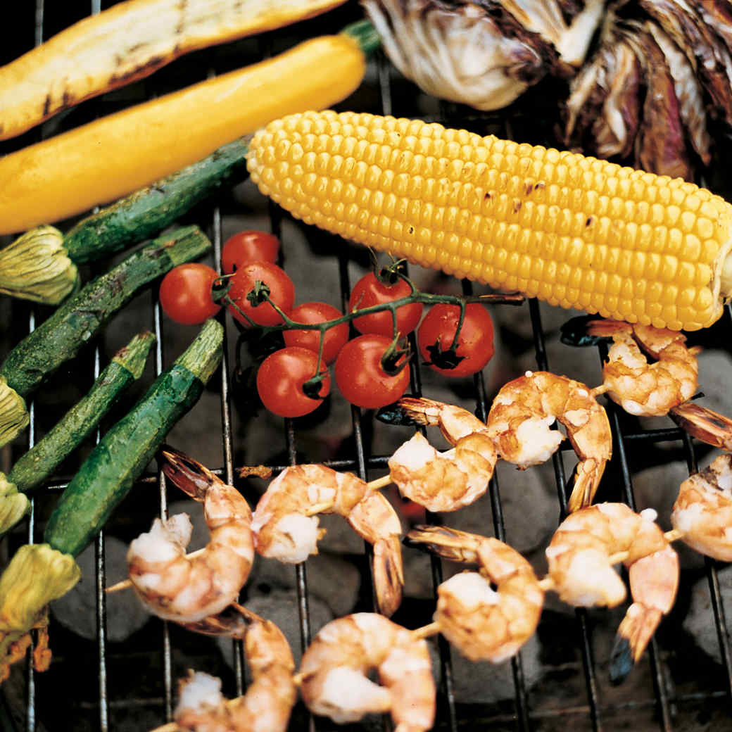 Grilled Mixed-Vegetable Salad