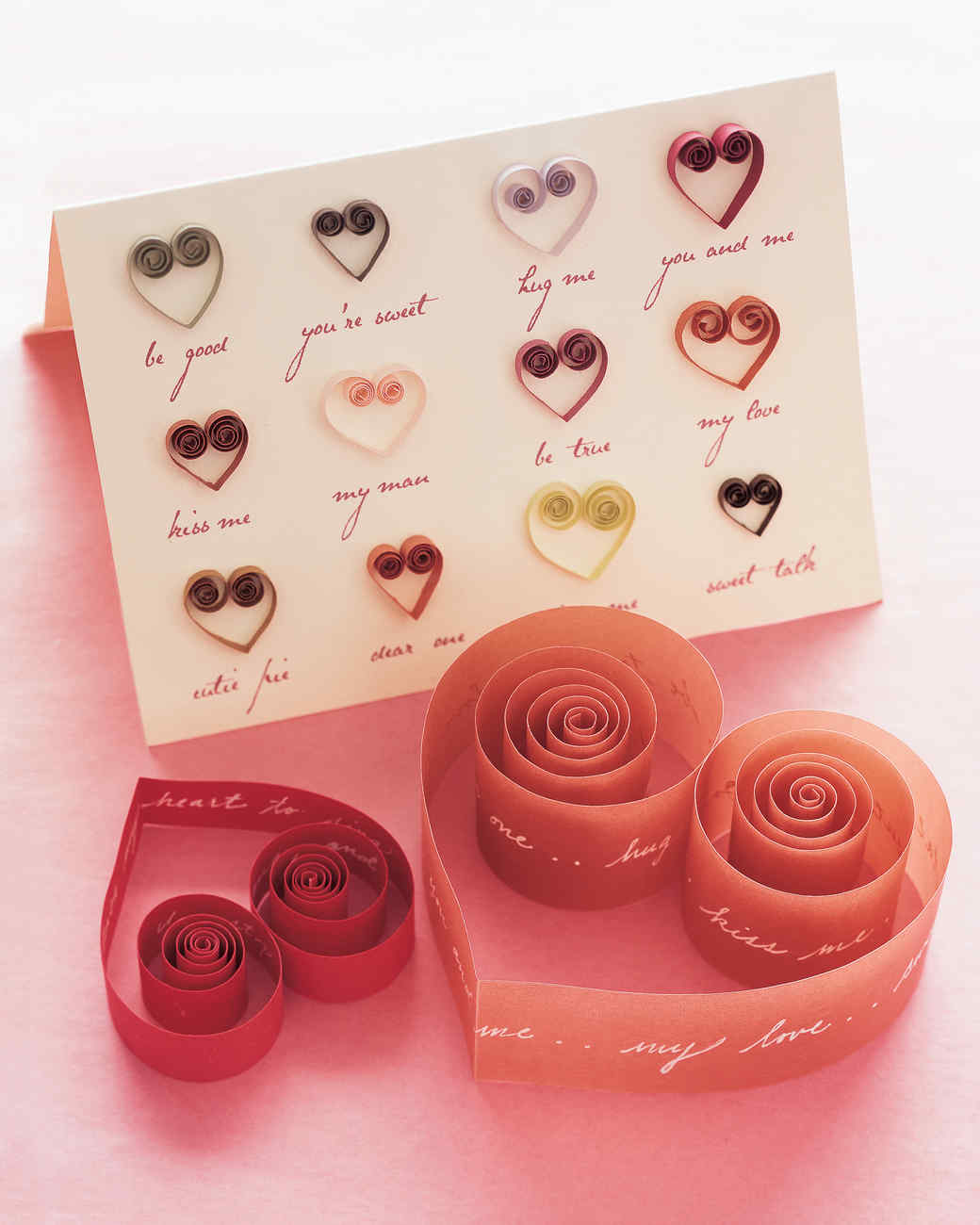 Quilled Valentines And Cards Martha Stewart