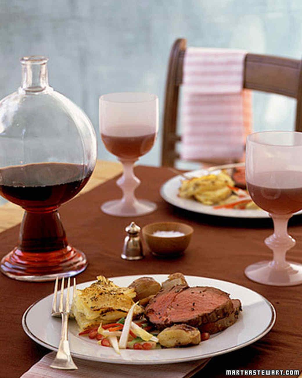 Attractive Winter Dinner Party Menu Ideas Part - 5: Martha Stewart